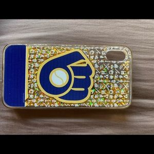 MKE brewers iPhone XS Max case